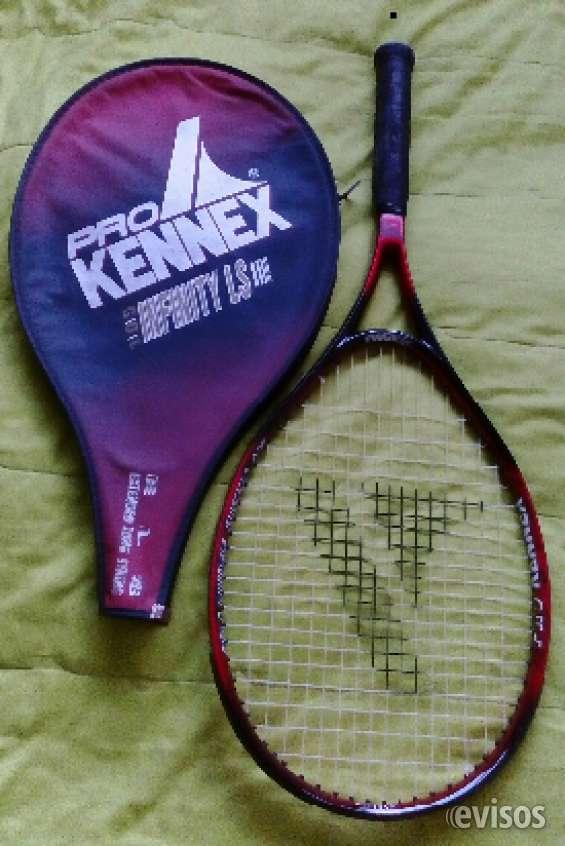 Vendo raqueta de tenis prokennex infinity con estuche