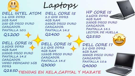 Laptops con garantia