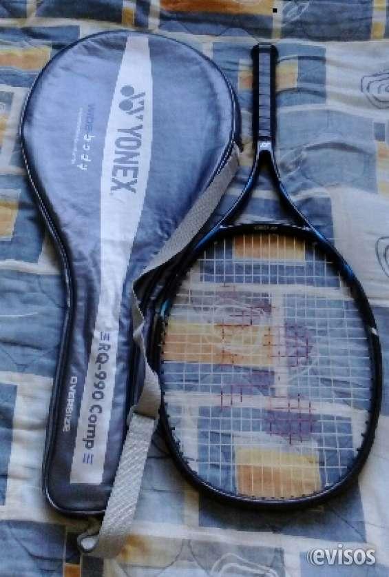 Raqueta tenis vendo marca yonex rq 990 estuche