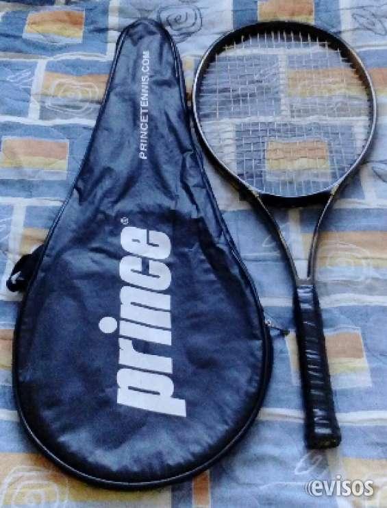Raqueta de tenis con estuche prince estoy vendiendo