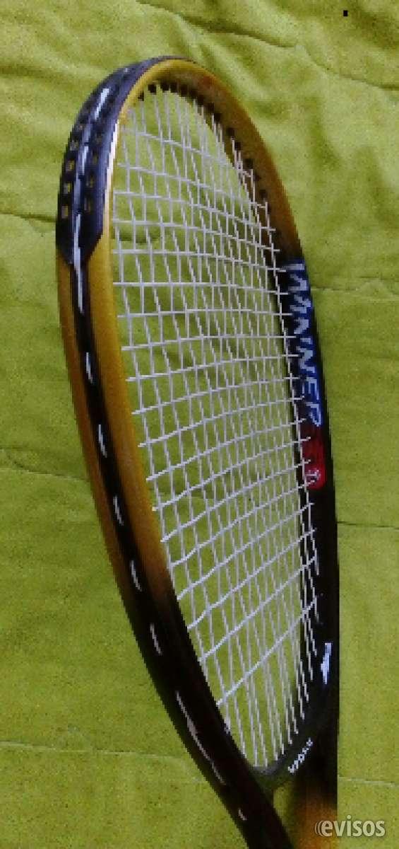 Vendo raqueta tenis wenda con estuche