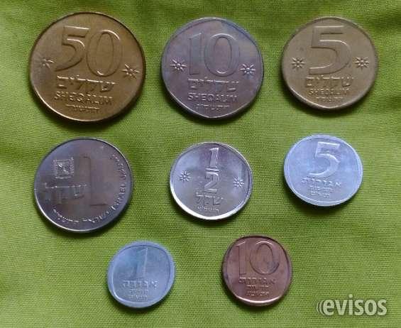 Vendo 2 lotes monedas de israel