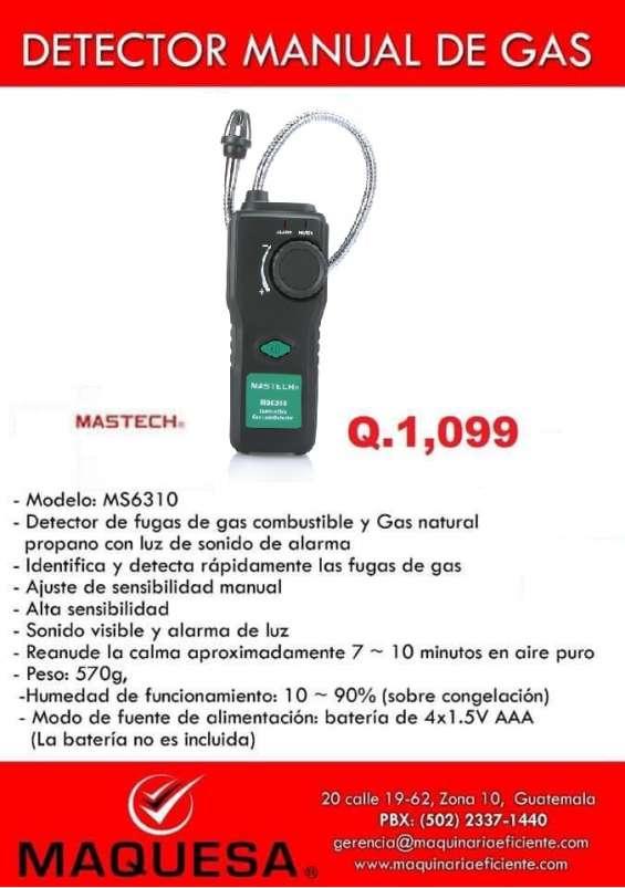 Detector de gas manual