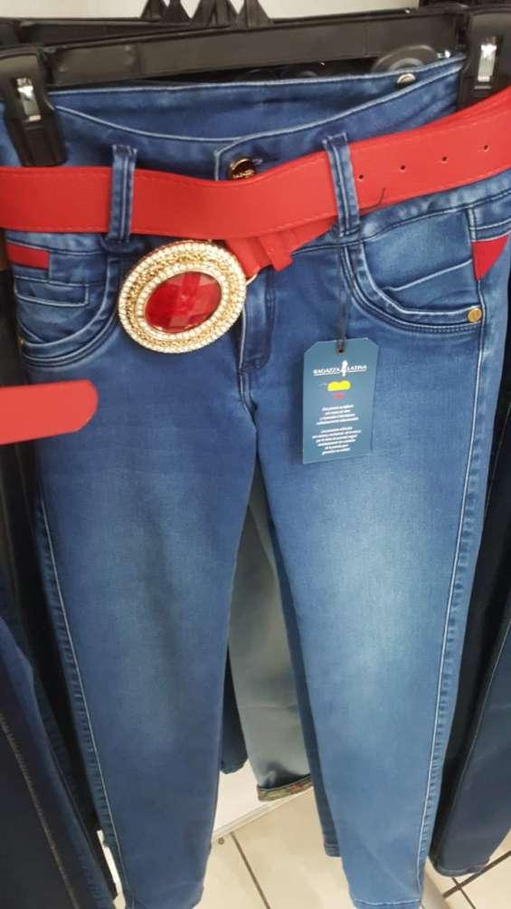 Jeans colombianos ragatzza y bviolet