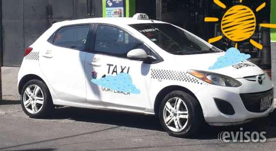 Vendo taxi de la ciudad capital