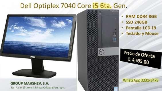Dell optiplex 7040 i5 6ta generación