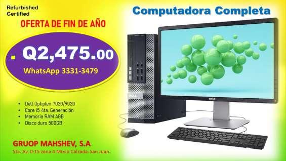 Dell optiplex 9020 core i5 4ta generacion